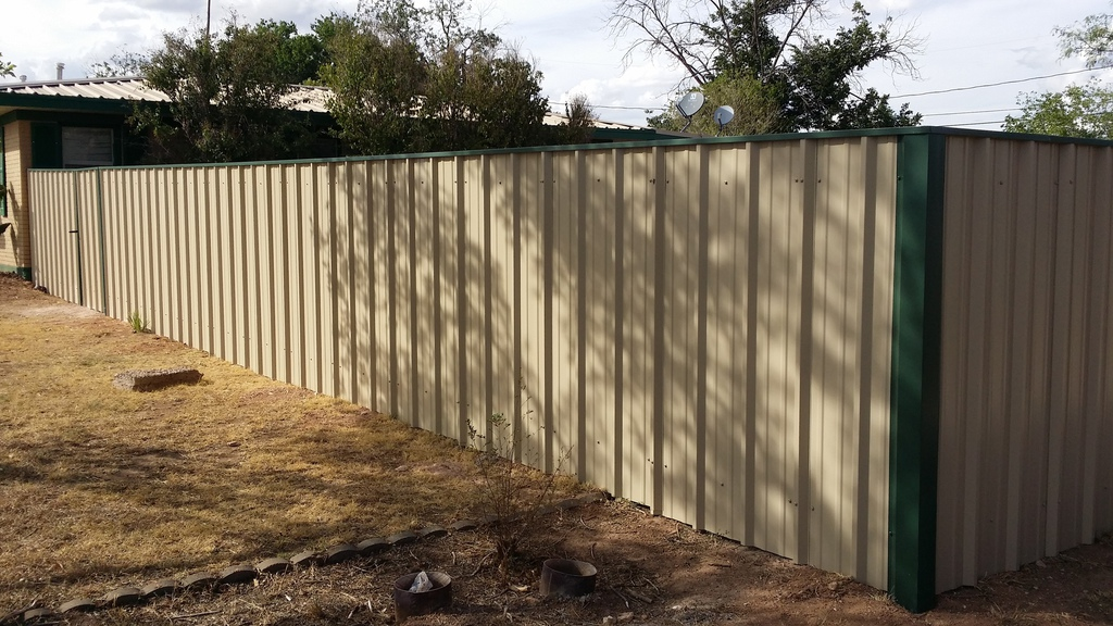 metal privacy fence all time co inc